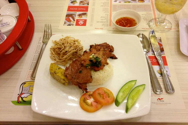Lotteria restaurant in Mui Ne in your Vietnam holiday