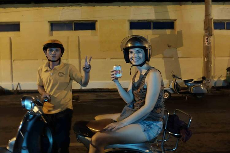 Vietnam Vespa Adventures in Sai Gon
