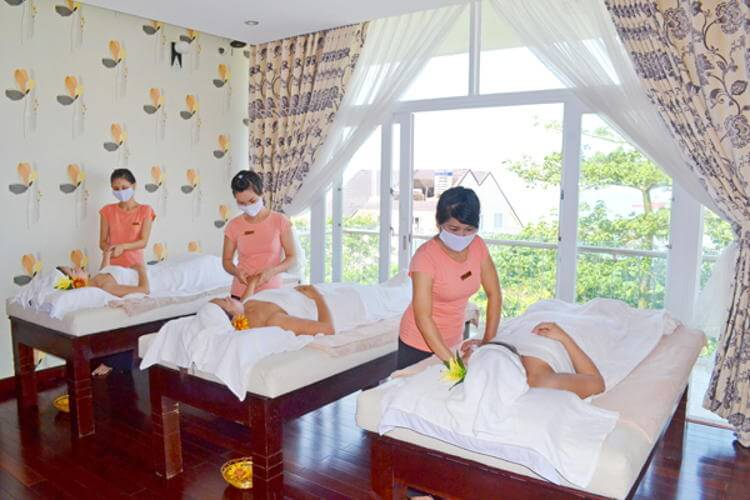 Vietnam travel and visit The Princess Spa