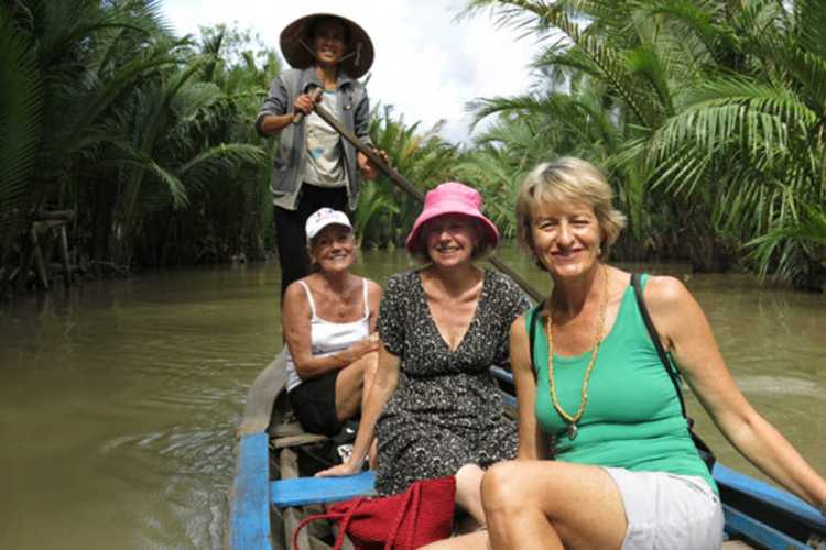 Shopping in Mekong Delta