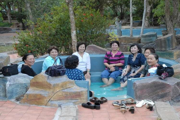 Binh Chau Hot Springs in Vietnam tour in Vung Tau