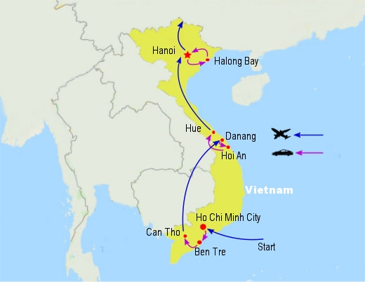 ct05 best vietnam tour