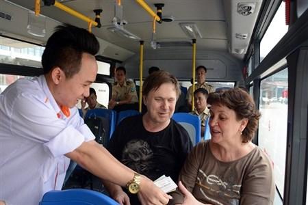 Bus Hanoi - Noi Bai International airport
