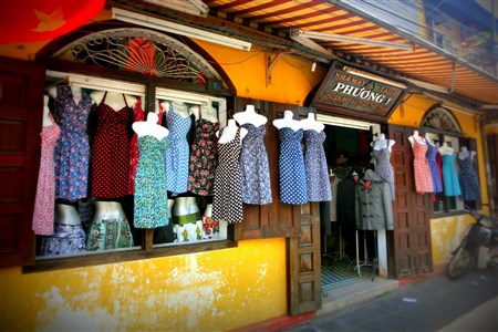 Tailoring services in Hoi An