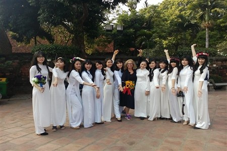 Ao Dai festival to host at Temple of Literature