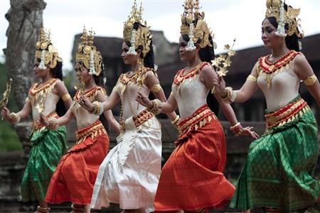 Angkor Sangkran festival in Siem Reap