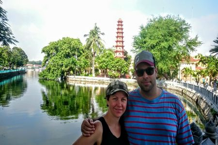 Tran Quoc - the most beautiful pagoda in the world