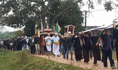 Vietnamese Funeral Ceremony