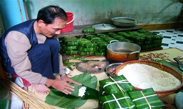 Story of Banh Chung in Tet Holiday
