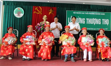Celebration for Longevity Custom in Vietnam