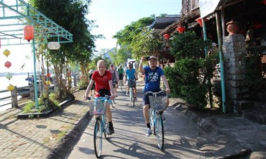 Cycling tour in Hoi An